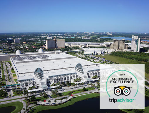 OCCC awarded third consecutive TripAdvisor Certificate of Excellence