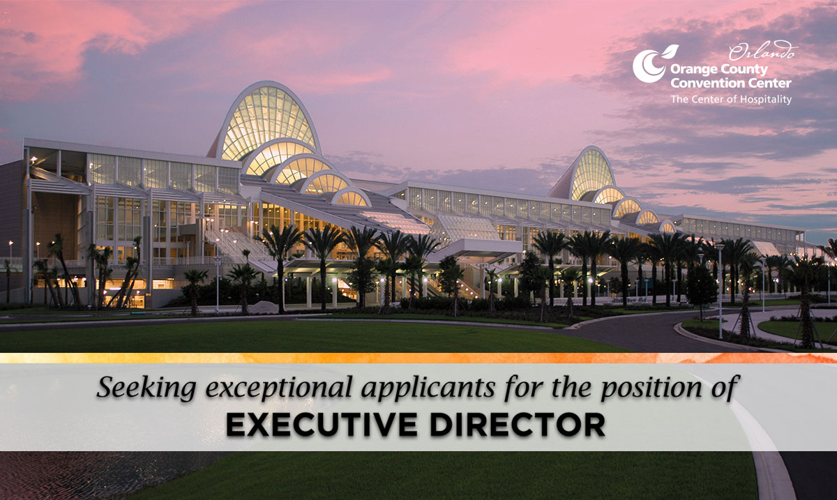 Orange County Convention Center announces search for new Executive Director