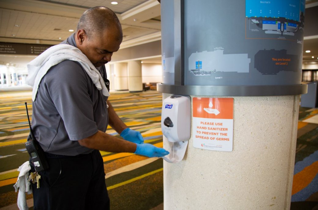 Orange County Convention Center Focuses on Sanitation Strategy to Protect and Promote Health and Well-Being of Guests