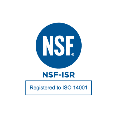 Registered to ISO 14001