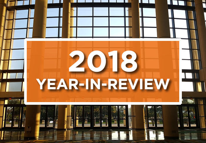 2018 Year-in-Review video