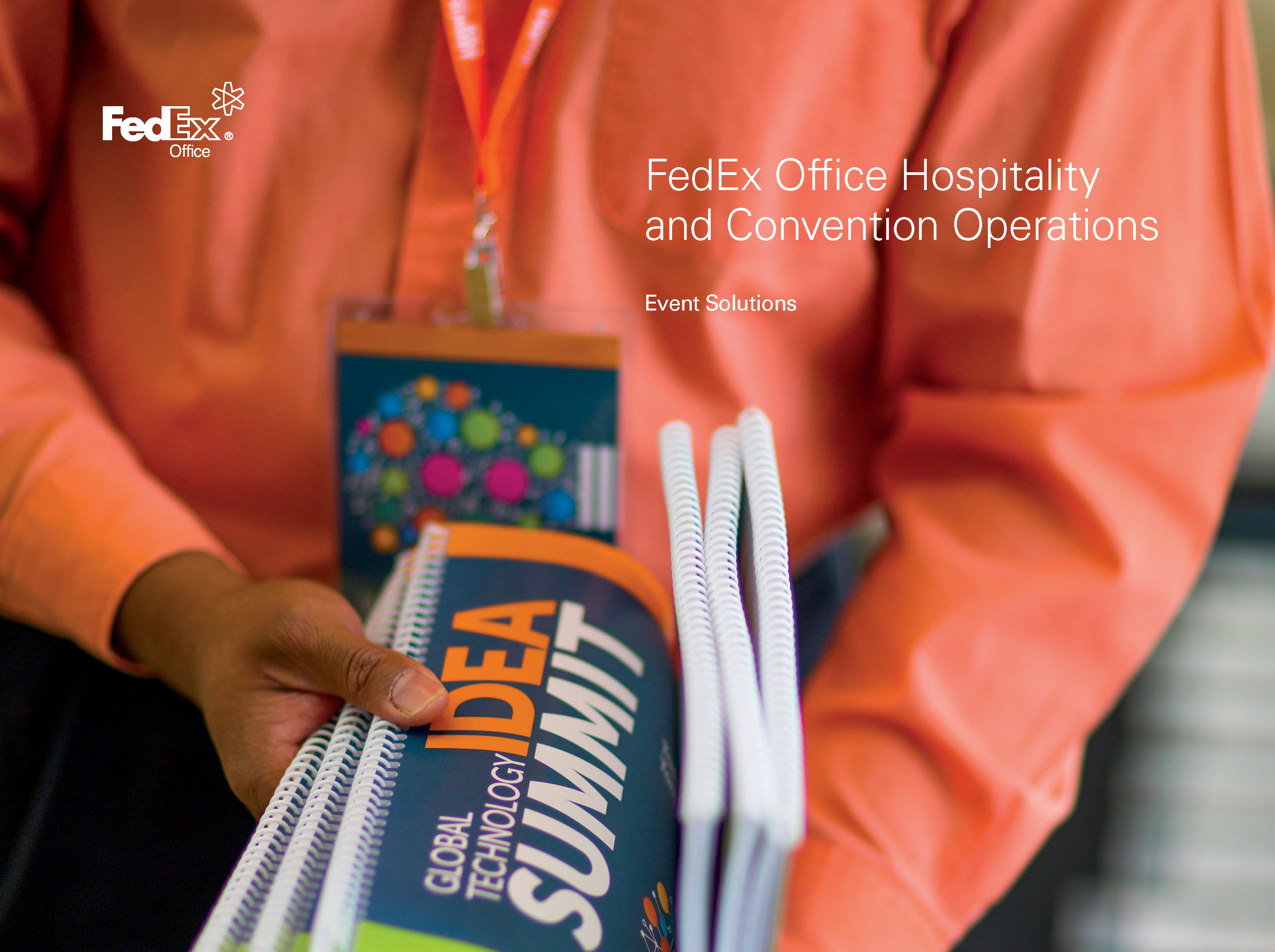Download the FedEx Office Event Solutions Catalog