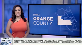 News 13   OCCC Safety Precautions